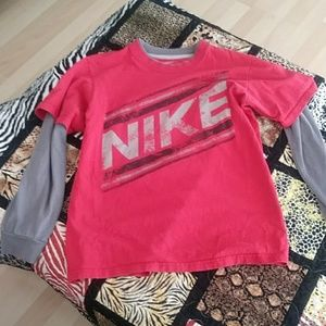 Boys Nike long sleeved tee size M 10/12